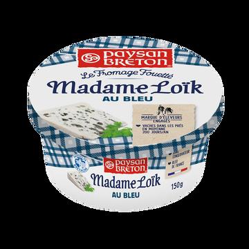 Paysan Breton Fromage Fouetté Pasteurisé Au Bleu Madame Loïk Paysan Breton, 23%mg, 150g