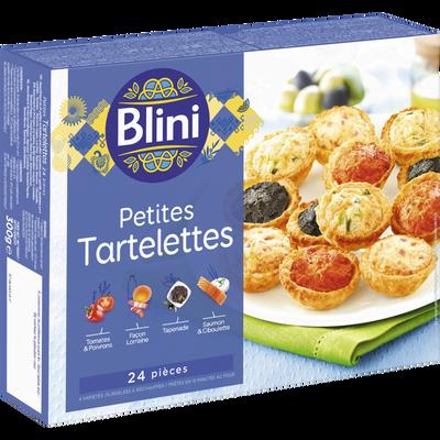 Petites tartelettes BLINI, x24 soit 300g