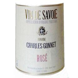 Vin rosé de Savoie AOC Charles Gonnet, bouteille de 75cl