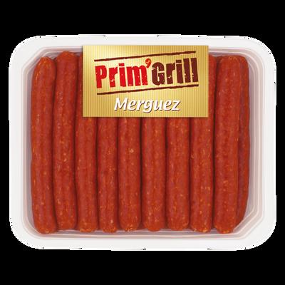 Merguez, PRIM'GRILL, France, Barquette, 1kg
