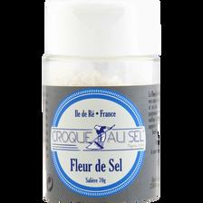 Fleur de sel croque au sel salière, 70g