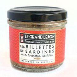 Rillettes de sardines aux tomates séchées 90g LE GRAND LEJON
