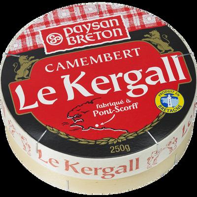 Camembert au lait pasteurisé Kergall EVEN, 23%MG, 250g