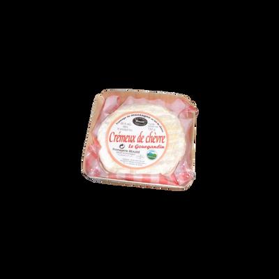 Le crémeux de chèvre au lait thermisé 22%mg 150g