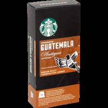 Starbucks Espresso Guatemala Compatible Nespresso, 10 Capsules De 55g