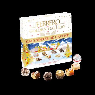 Golden gallery calendrier FERRERO, t25 233g