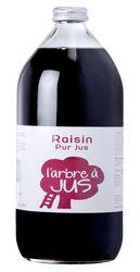 Jus de raisin L'ARBRE A JUS, bouteille 1l