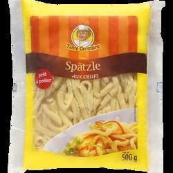 Spaetzle aux oeufs frais TANTE GERMAINE, 500g