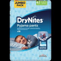 Culottes drynites 4-7 boys disney 17-30kg HUGGIES, x16
