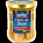 Nautilus Filets De Thon Aux Tomates Et Au Basilic Nautilus, 135g