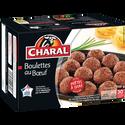 Charal Boulettes Au Boeuf , 30 Pièces, 900g. Origine De La Viande :france