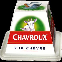 Fromage pasteurisé de chèvre frais CHAVROUX, 13,5%MG, 150g