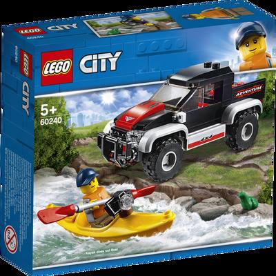 L'aventure en kayak LEGO City