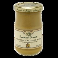 Moutarde miel vinaigre balsamique EDMOND FALLOT, bocal 21 cl