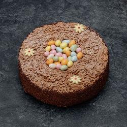 Nid de Pâques au chocolat décongelé, 6 parts, 555g