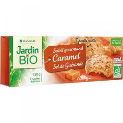 Sablé caramel au sel de Guérande JARDIN BIO 150g