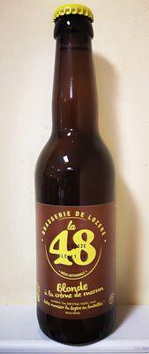 LA 48 BLONDE D'AUTOMNE 33 CL