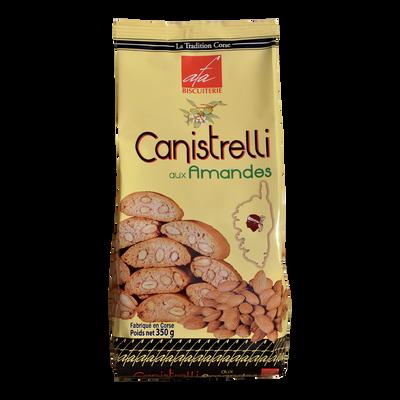 Canistrelli aux amandes (luxe) Biscuiterie d'Afa, sachet de 350g