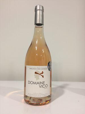 CVT Vin de Corse AOP rosé Domaine Vico MD bouteille de 75cl