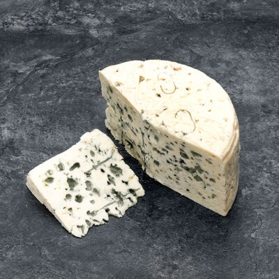 Roquefort AOP lait cru 30%mg, Vernieres vert,VERNIERE,300 g