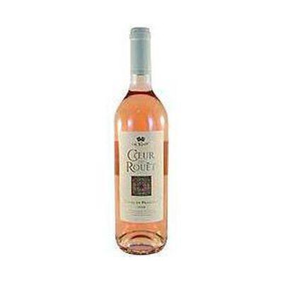 """Vin rosé Côtes de Provence""""Coeur"""" LE ROUET, 13°, 75cl"""