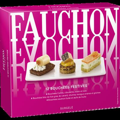 Bouchées festives FAUCHON, x12, 130g