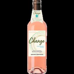 Vin rosé IGP Pays d'Oc grenache syrah cabernet sauvignon change, 75cl
