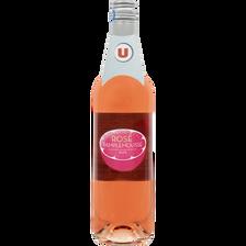 Boisson aromatisée à base de vin rosé pamplemousse U 7,5°, bouteille de 75cl