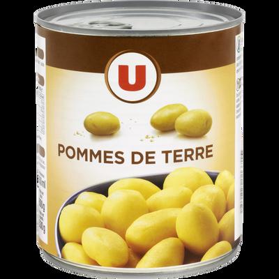 Pommes de terre entières U, boîte de 530g