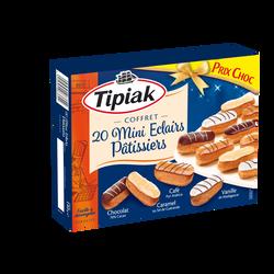 Mini éclairs pâtissiers TIPIAK, x20 soit 140g