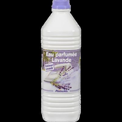Eau démineralisée parfum lavande, 1 litre