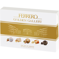 Assortiment golden gallery FERRERO, boîte de 22, 207g