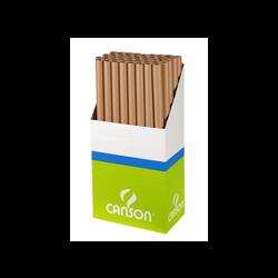 Papier kraft CANSON, 64g, brun, rouleau de 0,7x3m