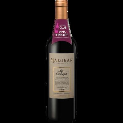Vin rouge CVT Madiran AOP les Ombrages, 75cl