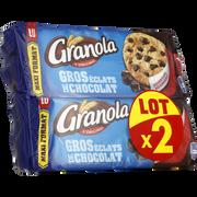 LU Granola Maxi Cookies Chocolat Lu Paquet 2 Paquets De 276g