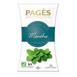 INFUSIONS MENTHE POIVREE BIO PAGES