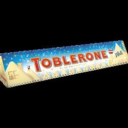 Barre au chocolat blanc TOBLERONE, 360g