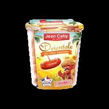 Mini saucisse l'orientale, JEAN CABY, pot de 200g