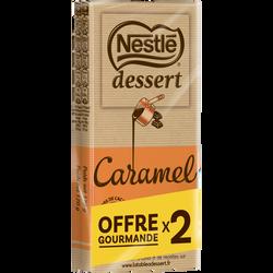 Chocolat lait au caramel NESTLE DESSERT, 2x170g