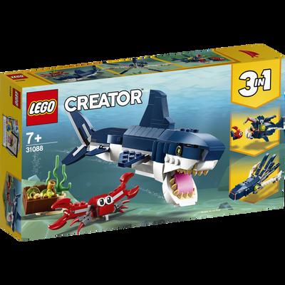 Les creatures sous marines LEGO Creator