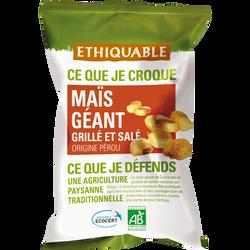 Maïs géant grillé et salé Pérou Bio ETHIQUABLE, 100g