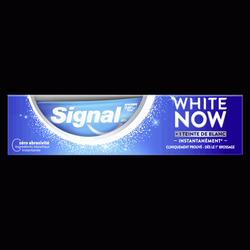 Dentifrice white now blancheur original +1teinte de blanc SIGNAL, 75ml