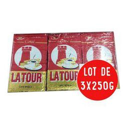 Lot 750gr LA TOUR MOULU Corsé