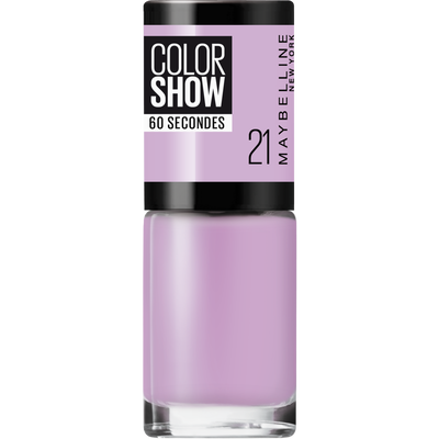 Vernis à ongles colorshow 21 lilac wine nu MAYBELLINE