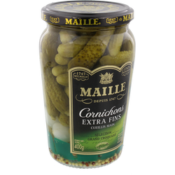 Cornichons extra fins MAILLE,  220g