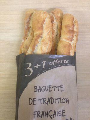baguette de tradition 3+1 offerte, 1 kg