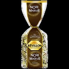 Révillon Papillotes Noir Majeur Au Chocolat Noir , Sachet De 420g