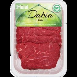 Steak de boeuf * à griller, Halal, DABIA, France, 6 pièces
