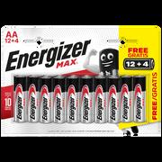 Energizer Piles Lr06 - Aaa Energizer Max, Pack De 16