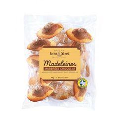 MADELEINES MARBREES CHOCOLAT